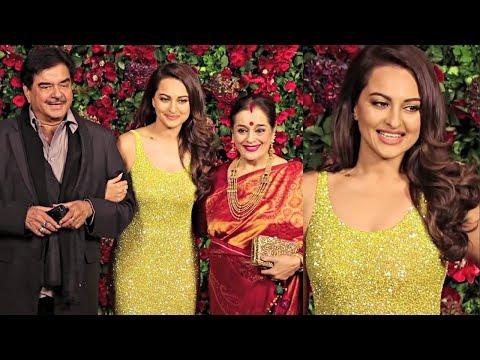 Xxx Mp4 Sonakshi Sinha With Family At Deepika Padukone And Ranveer Singh Wedding Reception 3gp Sex