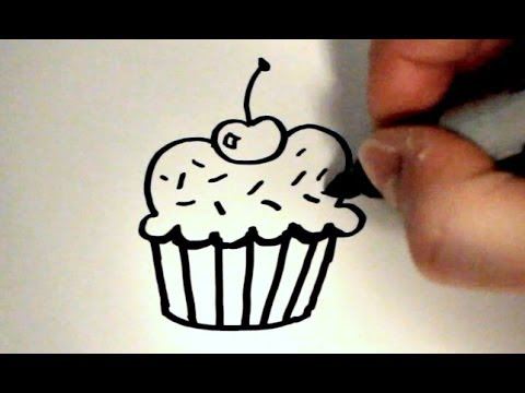 Xxx Mp4 How To Draw A Cartoon Cupcake V2 3gp Sex