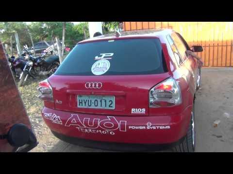 GVM som equipe Audi Terremoto chegando na Lagoa do Serjão