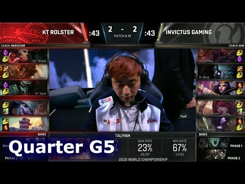 Xxx Mp4 KT Vs IG Game 5 Quarter Final S8 LoL Worlds 2018 KT Rolster Vs Invictus Gaming G5 3gp Sex