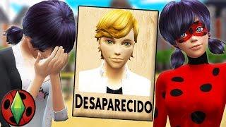 ¡¡ADRIEN HA DESAPARECIDO!! LADYBUG TIENE QUE BUSCARLE | SIMS 4 - LADYBUG | PARTE 37