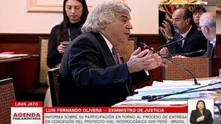 Fernando Olivera se enfrentó a Mauricio Mulder y Karina Beteta en la comisión Lava Jato
