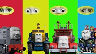 Baby Learn, Thomas and Friends, Funny EYES Swap, Finger Family Nursery Rhymes Toy Train Kids Cartoon