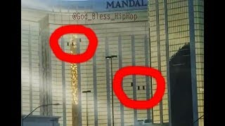 Mandalay bay open windows/ Muzzle flash/ Lower level shooter  (Video BreakDown)