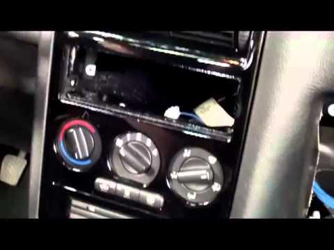 2. Teil Umbau Mittelkonsole Opel Astra G fertig gecleant