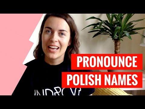 Xxx Mp4 How To Pronounce Polish Names Learn Polish 3gp Sex