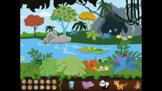 Animal Homes - Educational iPad & iPhone app for kids