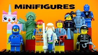 LEGO The Movie KnockOff Minifigures Set 3 with Emmet Wyldstyle Uni-Kitty & Vitruvius