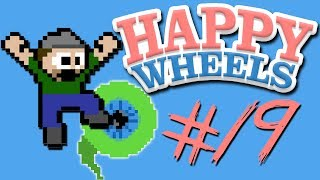 Happy Wheels - Part 19 | PEWDIEPIE QUIZ | SUPER SEGWAY STEVE!