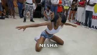 DA WAR ZONE - Nesha and Trell vs. Keevan and BJ - Hip Roll