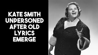 Philly Flyers unperson Kate Smith over 1930's lyrics