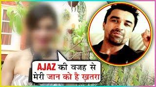 This Actress Files COMPLAINT Against Ajaz Khan | Ajaz Khan Fans Threatened Her