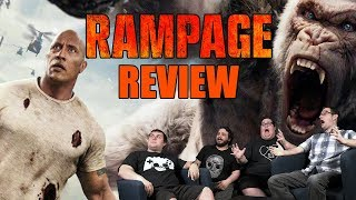 Rampage (2018) movie review (Spoiler section)