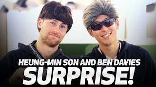HEUNG-MIN SON AND BEN DAVIES GO UNDERCOVER AT SPURS SHOP!