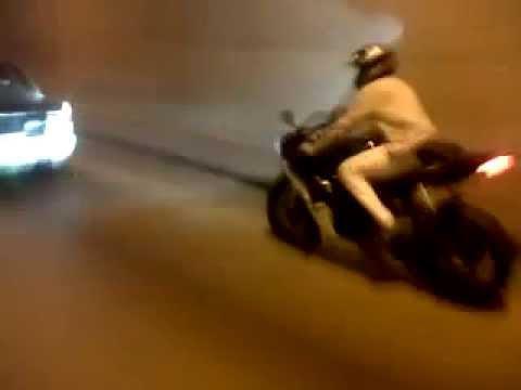 Moto Yamaha YZF R6 Tunnel