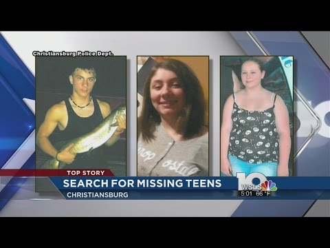 Christiansburg Police search for three missing high school students
