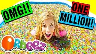 1 MILLION ORBEEZ BATH DARE CHALLENGE! (WITH HUGE GIVEAWAY!!)