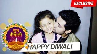 "Shakti Arora & Barbie aka Pari wish fans a "" Happy Diwali""   Silsila Badalte Rishton Ka"