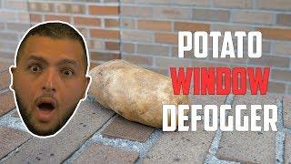 Eliminate foggy windows using a potato?   Car Hacks