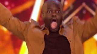 Comedian Daliso Chaponda Gets Amanda's GOLDEN BUZZER   Auditions 3   Britain's Got Talent 2017