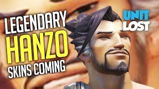 Overwatch News - 3 NEW Hanzo Legendary Skins Coming!