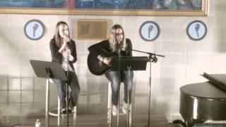 Tara and Heather Kennedy- HFU Coffee House Night '13