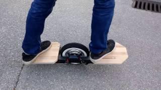 One Wheel DIY driving