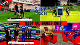 🎉Top-5 Best Ipl 2019 Cricket Games For Android With Realistic Graphics & Osm Features !! Must Try