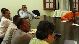 Rencontre entre Mr Ministre Narson RAFIDIMANANA et ADOPT (Extension du Port de Toamasina)