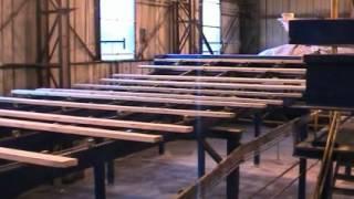 Автоматическая линия сортировки пиломатериала