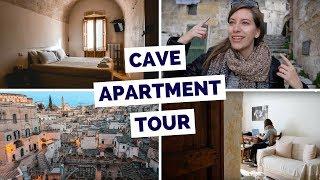 Cave Apartment Tour in Matera, Italy