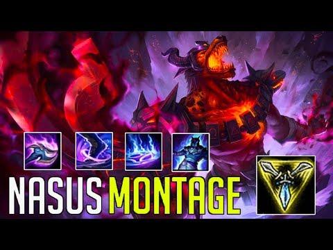 Nasus Montage 3 - Best Nasus Plays   League Of Legends Mid