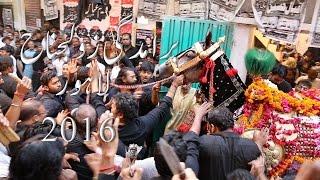 Part 1/6 11 Muharram Jaloos Zanjeer Zani Zuljanah Azadari Matam Lahore Pakistan 2016 Ashura