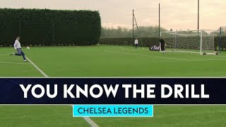 Attempting To Score WONDER VOLLEYS!   Chelsea Legends   You Know The Drill