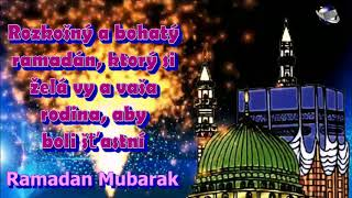 Slovak Language Ramadan  Mubarak  Ramazan  Mubarak greetings Whatsapp download