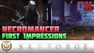 Skyforge - Necromancer Overview/Impressions (1080p)