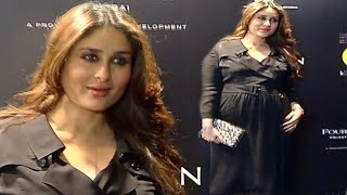 Pregnant Kareena Kapoor With BABY BUMP At MAMI Film Festival 2016