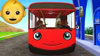 WHEELS on The BUS 🚌 with Hazel Rabbit & Friends ! Cartoons & Songs for Children