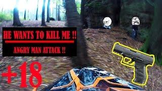 STUPID & ANGRY MAN ATTACKING 2017 #1 - SPECIAL VIDEO/KTM 450 SX/KTM 250 EXC/ KAWASAKI KXF 250
