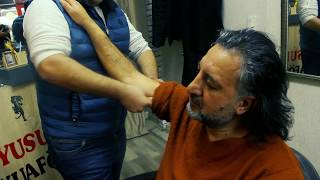 ASMR Turkish Barber Face,Head and Body Massage 70