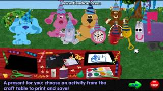 Blue's Clues - Blue's Birthday! (1999 Shockwave Game)