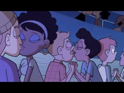Xxx Mp4 Disney Airs First Gay Kiss In Cartoon Series 3gp Sex