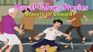 Being Brave | Moral Values for Kids | Moral Lessons For Children | Moral Values Stories