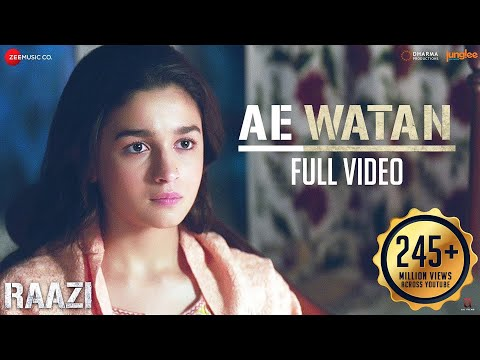 Xxx Mp4 Ae Watan Full Video Raazi Alia Bhatt Sunidhi Chauhan Shankar Ehsaan Loy Gulzar 3gp Sex