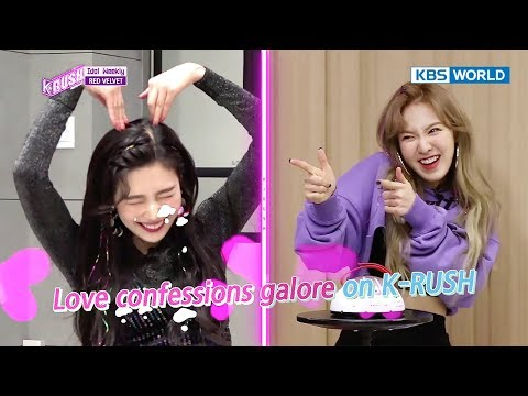 Idol Weekly Interview with Red Velvet KBS World Idol Show K rush2 2017.12.01