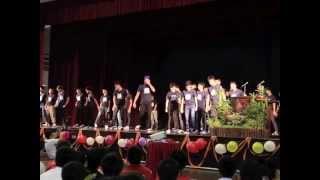 4P3's Class Dance on Teachers' Day 2014