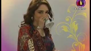 Sophiya Anjam at Morning with Juggun (PTV)
