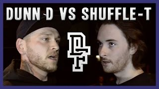 DUNN D VS SHUFFLE-T | Don't Flop Rap Battle