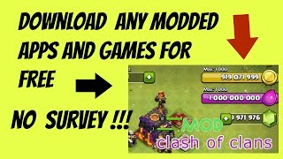 New ! How to download modded games apps for Android !