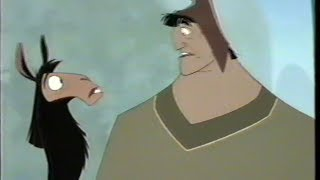 The Emperor's New Groove (2000) Trailer 2 (VHS Capture)